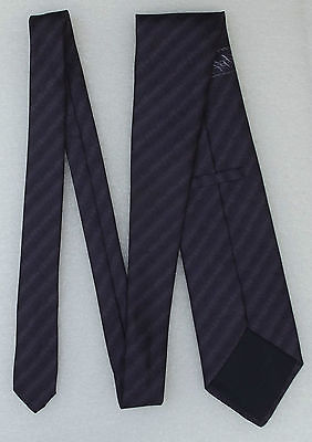 Purple silk tie by M&S